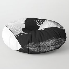 asc 399 - L'ombre chinoise (The shadow play) Floor Pillow
