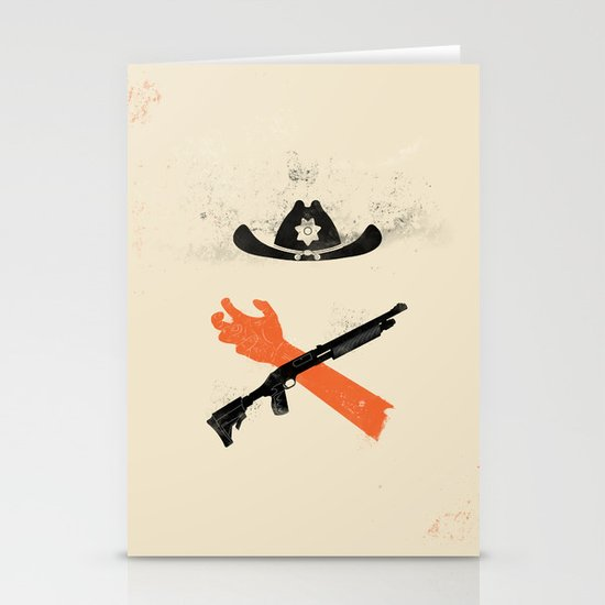 The Wandering Dead Stationery Cards