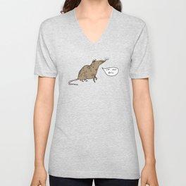 Rats Aren't Evil Unisex V-Neck