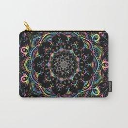 Transcendental Dream Coloured Mandala Design Carry-All Pouch