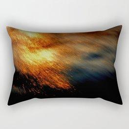 Fiery Rectangular Pillow