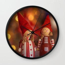 082 - Christmas Wall Clock