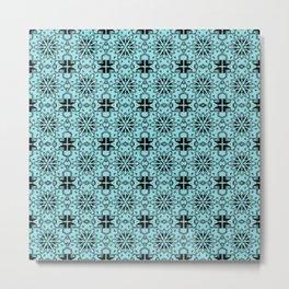 Island Paradise Star Geometric Metal Print