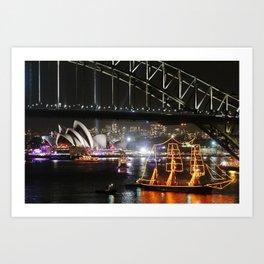 Sydney 02 Art Print