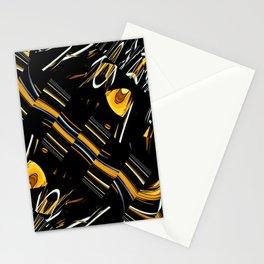 Fractal Pattern Cornfield Stationery Cards