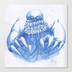Mad Horror  Canvas Print