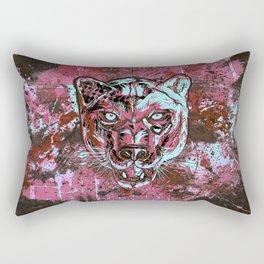 Panther Style. Rectangular Pillow