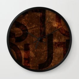 Stout Beer Typography Wall Clock
