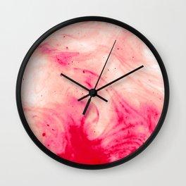 Blood Face Wall Clock