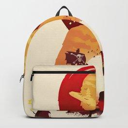 Lufy wano - one piece Backpack