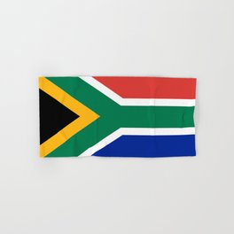 Flag of South Africa, Authentic color & scale Hand & Bath Towel