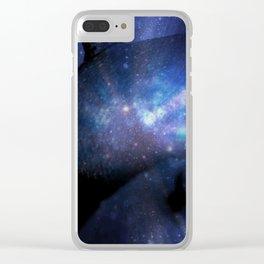 Galaxy Breasts / Galaxy Boobs 2 Clear iPhone Case