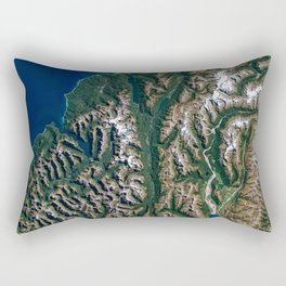 Southern Alps - New Zealand Rectangular Pillow