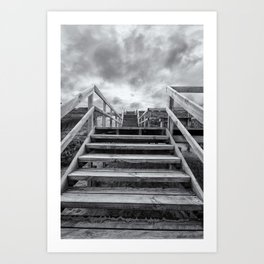 Step on up Art Print
