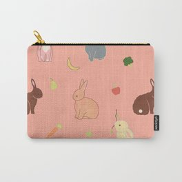 bunny rabbit banana fruit Carry-All Pouch