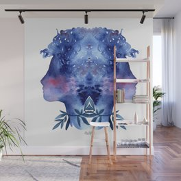 Blue soul Wall Mural