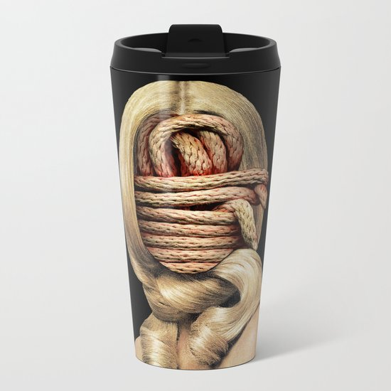 Knots Metal Travel Mug