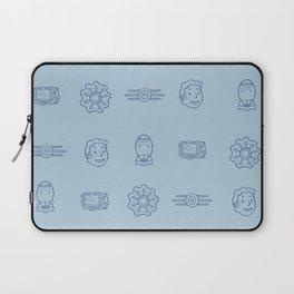 Fallout- Vault Dweller pattern Laptop Sleeve