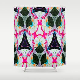 KaleidoStar Watercolor Dream Shower Curtain
