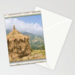 NEPALI HAYSTACK  Stationery Cards