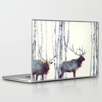 elk Laptop & iPad Skins featuring Elk // Follow by Amy Hamilton