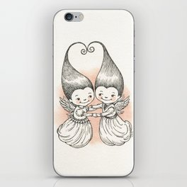 Heart to Heart iPhone Skin