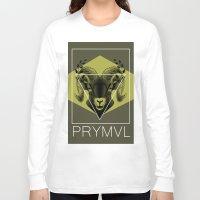 ram Long Sleeve T-shirts featuring Ram by Ryan Ingram