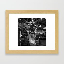 Watchful Faces Framed Art Print
