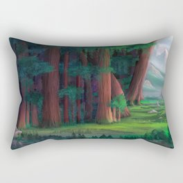 The Ancient Forest Rectangular Pillow
