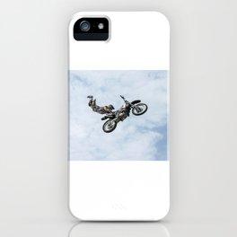 Motocross High Flying Jump iPhone Case