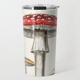 Amanita muscaria Fly agaric red mushroom Travel Mug