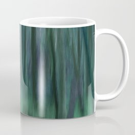 Painted Trees 2 Aqua Coffee Mug