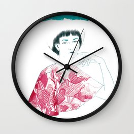 Lina Wall Clock