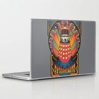 dalek Laptop & iPad Skins featuring Dalek Nouveau by Mareve Design