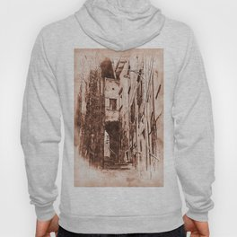 Scanno, an ancient italian town Hoody