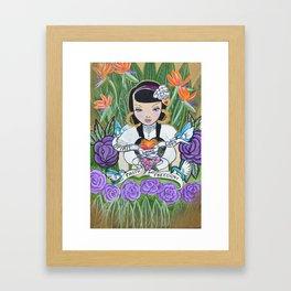 Word is Bond Framed Art Print