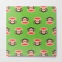 Julius Monkey Pattern by Paul Frank - Green by cutecutecute