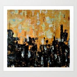 City Gridlock Art Print