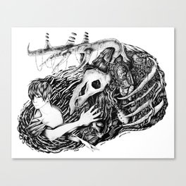 Dance with the Devil Canvas Print