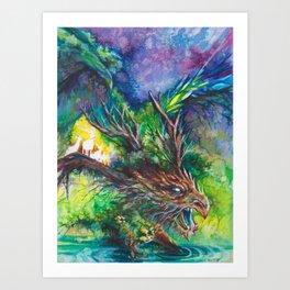 Guardian Dragon Art Print