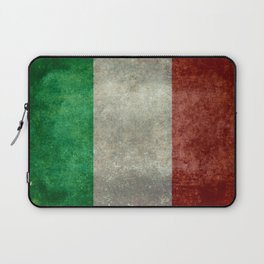 Flag of Italy, Vintage Retro Style Laptop Sleeve