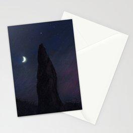 Half Moon Stone Stationery Cards
