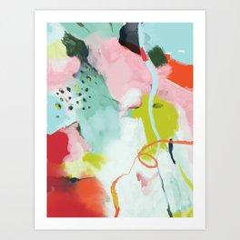 landscape in spring Art Print