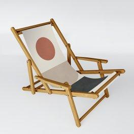 Geometric Modern Art 30 Sling Chair