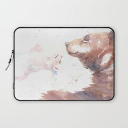 The bear, the cat and the tree of truth Laptop Sleeve