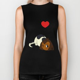 I Heart furBags - Beagle Biker Tank