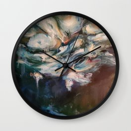 The Water Series - Pond Side Wall Clock