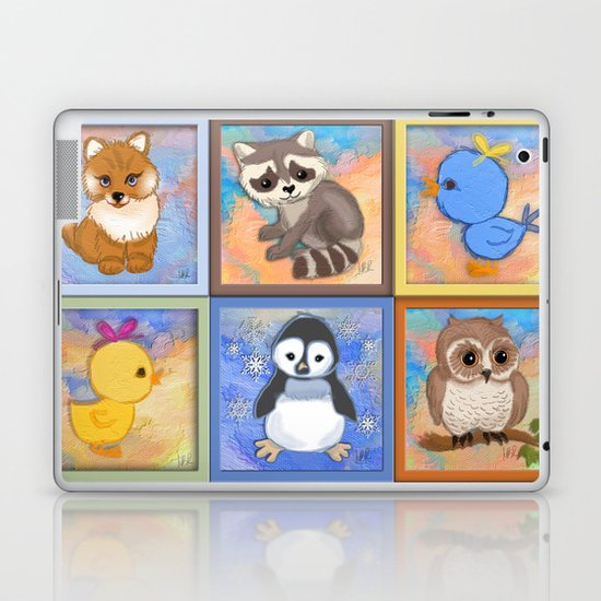 Baby animals Laptop & iPad Skin