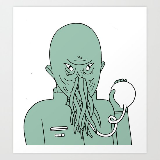ood Art Print
