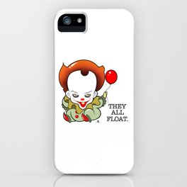 Pennywise From The Movie IT iPhone Case